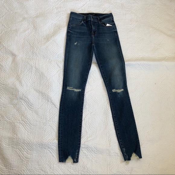 fca5ac0174f J Brand Jeans | Maria Highrise Skinny Revoke Destruct | Poshmark